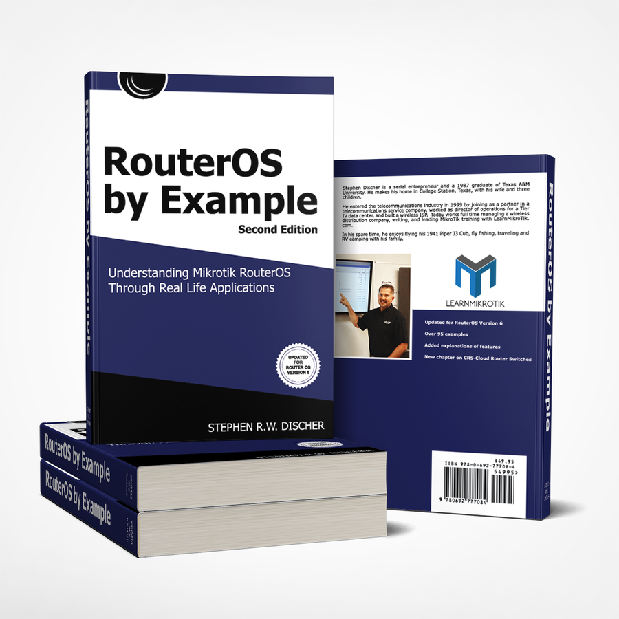 MikroTik Learn RouterOS Book